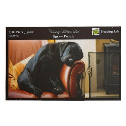 Sleeping Labrador 1000 Piece Jigsaw